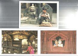 NEPAL.lotto Di N. 10 -CARTOLINE  CON VARIE VEDUTE-FG-4544 - Nepal