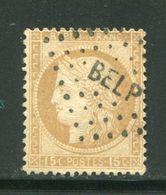 Y&T N°59- Ambulant BEL P - 1871-1875 Ceres