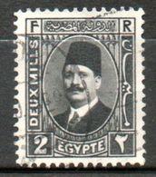 EGYPTE  Roi Fouad I  1927-32 N° 119 - Égypte