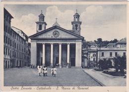 SESTRI LEVANTE - CATTEDRALE S. MARIA DI NAZARET  VG  AUTENTICA 100% - Genova (Genoa)