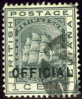 British Guiana. Sc #O6. Used. VF. - Guyana Britannica (...-1966)
