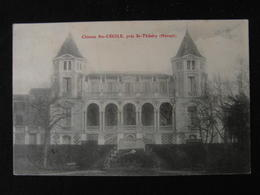 CPA CHATEAU STE CECILE PRES ST THIBERY (34 HERAULT)  ANIMEE - France