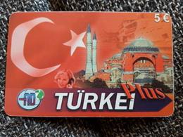 Türkei Plus   5  Euro  -   Moschee -   Used Condition - Deutschland
