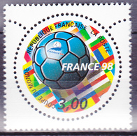 Timbre-poste Neuf** - France 98 Coupe Du Monde De Football - N° 3139 (Yvert) - France 1998 - France