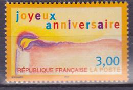 Timbre-poste Neuf** - Timbre De Souhaits Joyeux Anniversaire - N° 3141 (Yvert) - France 1998 - France
