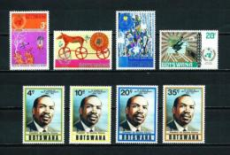 Botswana  Nº Yvert  248/51-284/7  En Nuevo - Botswana (1966-...)