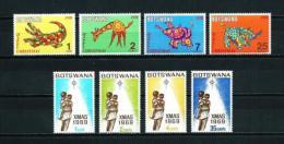 Botswana  Nº Yvert  206/9-219/22  En Nuevo - Botswana (1966-...)
