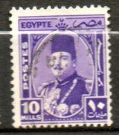 EGYPTE  Roi Fouad I  1936-37 N° 176 - Égypte