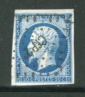 Y&T N°14A Ambulant Cf P2° - 1853-1860 Napoleone III