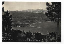 MARINELLA ( AVENZA ) PANORAMA DI BOCCA DI MAGRA   - VIAGGIATA FG - Massa