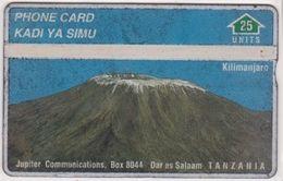 267/ Tanzania; P3. Mount Kilimanjaro, CP 706E - Tanzania