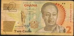 GHANA P37A 2 CEDIS 6.3.2010 VF - Ghana