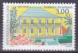 Timbre-poste Neuf** - Patrimoine Réunionnais La Sous-Préfecture Saint-Pierre - N° 3144 (Yvert) - France 1998 - France
