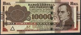 PARAGUAY P224e 10.000 = 10000 Guaranies 2011 G Unc. - Paraguay