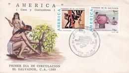 AMERICA. USOS Y COSTUMBRES. EL SALVADOR. ILPAE.-FDC-TBE-BLEUP - El Salvador