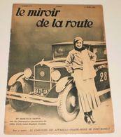 Le Miroir De La Route Du 1er Mars 1931.(Saint Raphaël-Font Romeu) - Livres, BD, Revues