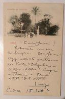 Cadiz, Alameda De Apodaca, Bella Cartolina Viaggiata 1900 Affrancata Con 10 Centimos Alfonso XIII° € 14,00+ 4,00spese - Cádiz