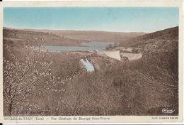 CPA - ANGLES DU TARN - Vue Générale Du Barrage Saint Peyres - Angles