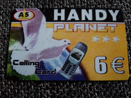 AS Planet 6 Euro . White Pigeon -   Used Condition - Deutschland