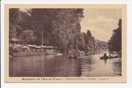 CPA 94 CHENNEVIERES SUR MARNE Hostellerie De L'Ecu De France - Chennevieres Sur Marne