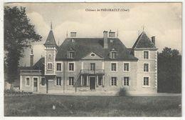 18 - (Saint-Loup-des-Chaumes) - Château De Prégirault - 1909 - Other Municipalities