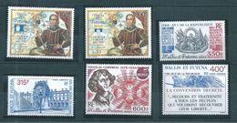 Wallis Et Futuna  PA De 1992/93  N°173 A 178 Neuf ** Parfait Cote 74,50€ - Neufs