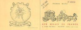 VP-GF.18-311 : PUBLICITE AUX RELAIS DE FRANCE RESTAURANT MAZA AVENUE MAC-MAHON. PARIS 17°. 1948 - Publicités