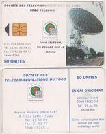 279/ Togo; P18. Earth Station, 50 Ut. - Togo