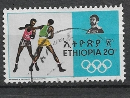 ETHIOPIA     1968 Olympic Games, Mexico  BOXING  USED - Ethiopië