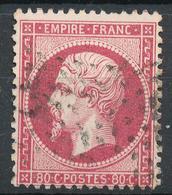 N°24 NUANCE ET OBLITERATION. - 1862 Napoléon III