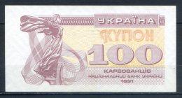 587-Ukraine Billet De 100 Karbovantsiv 1991 - Ukraine