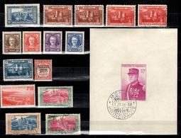 Monaco Petite Collection D'anciens 1922/1939. Bonnes Valeurs. B/TB. A Saisir! - Monaco