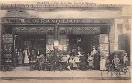 45 - LOIRET / Orléans - 454359 - Devanture Du Grand Bar - Beau Cliché Animé - Orleans