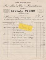Facture 1902 / Edouard QUERRY / Sellerie / 25 Fuans / Doubs - France