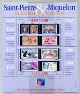 Saint Pierre Et Miquelon - SPM - Michel Block 5 -  Yvert 692-695 -  ** Mnh Neuf Postfris - - Nuovi