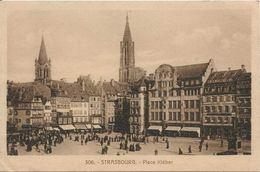 STRASBOURG  En 1920 ... (67) Place Kléber - Strasbourg