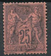 N°91 CACHET BELLE FRAPPE. - 1876-1898 Sage (Type II)