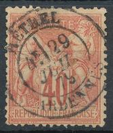 N°70 CACHET BELLE FRAPPE. - 1876-1878 Sage (Type I)