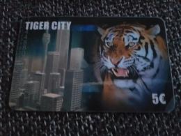 Tiger City - 5 Euro - Tiger  -   Used Condition - Deutschland