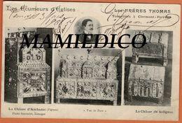"""CP Exceptionnelle""""Les Frères Thomas,tonneliers,Ecumeurs D'Eglises Avec AUTHOGRAPHES Des Deux Bandits"""" - Autographes"""
