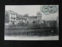 CPA SAINT PONS LA TOUR DU COMTE PONS (34 HERAULT)  CACHET ST PONS  1906 - Autres Communes