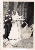 2 Photographies - Souvenir De GOMMERVILLE  (Mariage Et Paysan) - Lieux