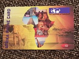 Afrika  - 10 Euro - Elefant   -   Used Condition - Deutschland