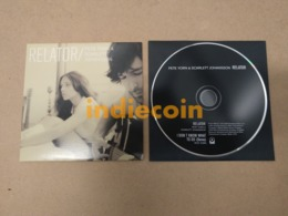 PETER YORN & SCARLETT JOHANSSON Relator 2009 EU CD Single 2 Track Cardsleeve - Music & Instruments