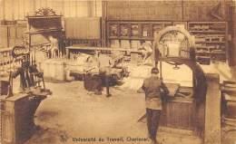 Charleroi - Université Du Travail - Animée - Les Machines à Bois - Charleroi
