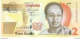 Ghana - Pick 37A - 2 Cedis 2014 - Unc - Ghana
