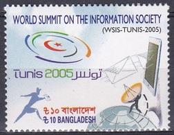 Bangladesch Bangladesh 2006 Technik Kommunikation Information Communication WSIS Tunis, Mi. 868 ** - Bangladesch