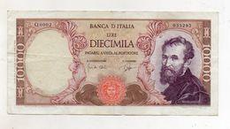 "Italia - Banconota Da Lire 10.000 ""Buonarroti"" Decreto 03.07.1962 -  (FDC8539) - [ 2] 1946-… : Républic"