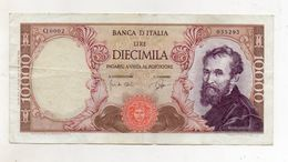 "Italia - Banconota Da Lire 10.000 ""Buonarroti"" Decreto 03.07.1962 -  (FDC8539) - 10000 Lire"