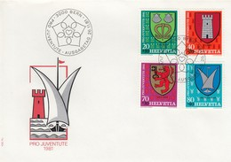 LETTRE  COVER SWISS  /  2 - Briefmarken